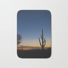 Saguaro Sunset Bath Mat