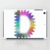 letter iPad Cases featuring Letter D by David Zydd