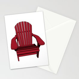 Sit back and relax in the Muskoka Chair Stationery Cards