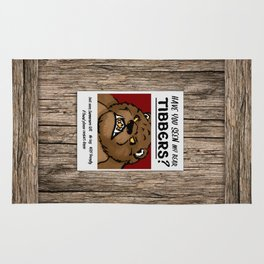 Have You Seen My Bear Tibbers? Rug