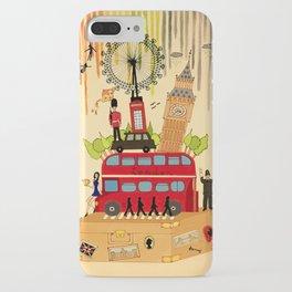 Rainbow Cities ~ London iPhone Case