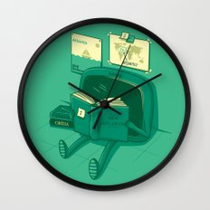 I will find the way! Wall Clock