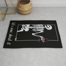 Let's Wine About It Rug