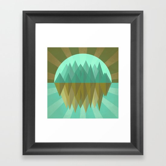 Rocks rock Framed Art Print