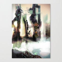 City Lost Canvas Print