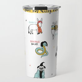 Harry Pupper and the (not so) Witty Puns Travel Mug