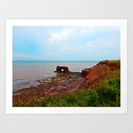 Unique Landmark in PEI Art Print