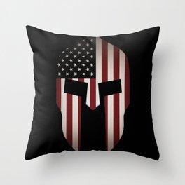 USA Spartan  Throw Pillow