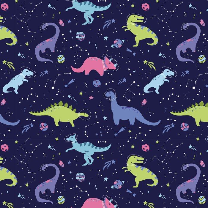 Dinosaurs in Space Leggings