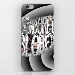 Komondored Blobfish Logo iPhone Skin