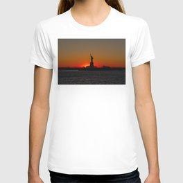 Sun Sets on Liberty T-shirt