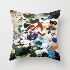 Bl ob Throw Pillow
