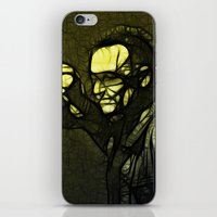 u2 iPhone & iPod Skins featuring U2 / Bono 1 by JR van Kampen