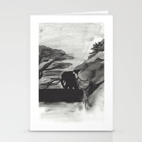 safari Stationery Cards featuring Safari by SaphronSunshine