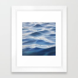Accordance - water painting Framed Art Print