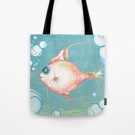 Pink Fish Dreams  Tote Bag