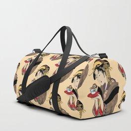 Tea Time with Sloth Duffle Bag