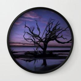 Artistic Driftwood Beach Wall Clock