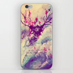 the sky is beautiful iPhone & iPod Skin