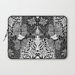Symmetrical Mouse (bw) Laptop Sleeve