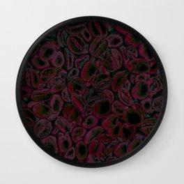 Pink Coffee Wall Clock