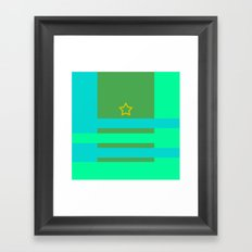 Star and Stripes Framed Art Print