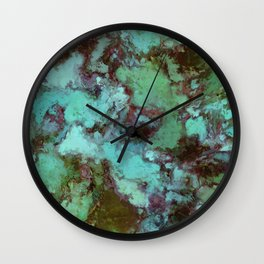 Organic decay Wall Clock