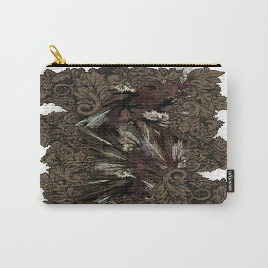 Impressive Brier Pattern  Carry-All Pouch