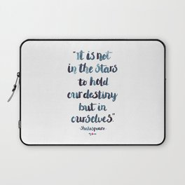 Shakespeare Quote Laptop Sleeve