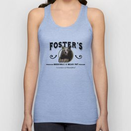 Foster's Premium Beeswax & Bear Fat Pomade (A Product of Philadelphia) Unisex Tank Top