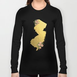 Baesic Gold Foil New Jersey Long Sleeve T-shirt