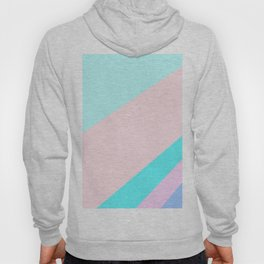 Abstract Minimal Color - Acapulco Pop Painting Hoody