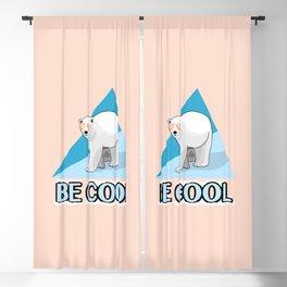 Be Cool Polar Bear Blackout Curtain