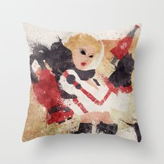 Blast Off! Throw Pillow