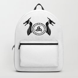 Norse Dragon - Triple Horn of Odin Backpack