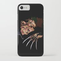 freddy krueger iPhone & iPod Cases featuring Freddy by iankingart