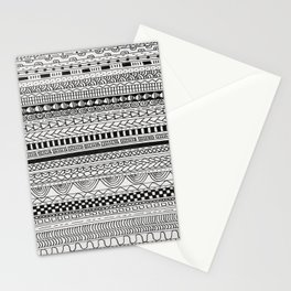 Pattern Line Abstract Stationery Cards