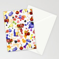 Watercolor Tutti Frutti Stationery Cards