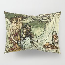 """Titania"" by Arthur Rackham From Shakespeare Pillow Sham"