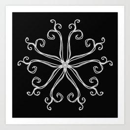 Five Pointed Star Series #10 Art Print