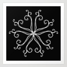 Five Pointed Star Series #10 Art Print