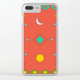 South America Dreaming Clear iPhone Case