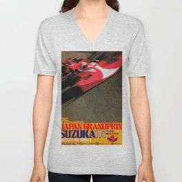 Suzuka 76 Unisex V-Neck