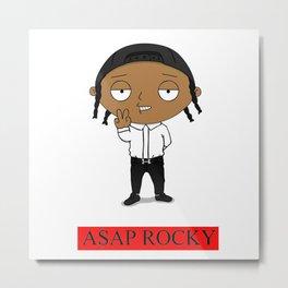 asap rocky supreme Metal Print