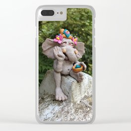 Ganesha Clear iPhone Case