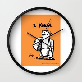 now I know... Wall Clock