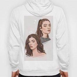 Lorde / digital portraits Hoody