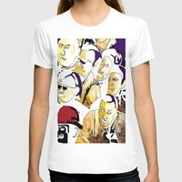 faces T-shirts featuring Faces by Helen Syron