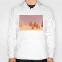 desert Hoodies featuring Desert by CaptClare