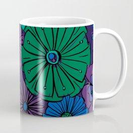 Jewel Flowers Coffee Mug